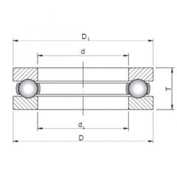 ISO 51118 thrust ball bearings