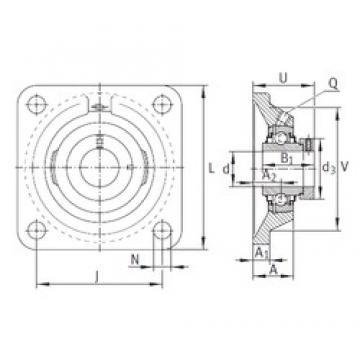 INA RCJ50-N bearing units