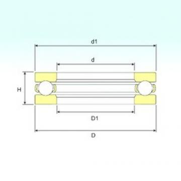ISB 591/850 thrust ball bearings