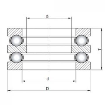 ISO 52334 thrust ball bearings