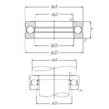 NTN 51318 thrust ball bearings