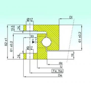ISB NK.22.1100.100-1N thrust ball bearings