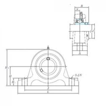 KOYO UCIP315-48 bearing units