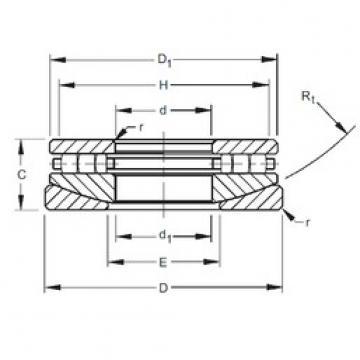 Timken 90TPS139 thrust roller bearings