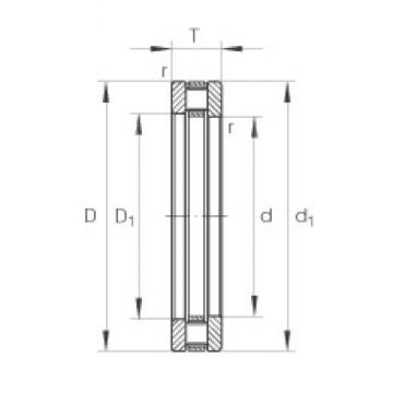 INA 81238-M thrust roller bearings