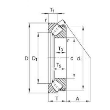FAG 29344-E1 thrust roller bearings