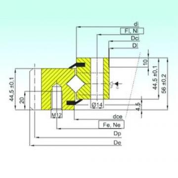 ISB ER1.14.1094.200-1STPN thrust roller bearings
