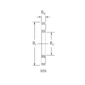 KOYO NTH-5280 thrust roller bearings