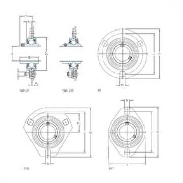SKF PF 20 WF bearing units