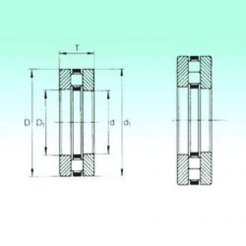 90 mm x 190 mm x 20 mm  NBS 89418-M thrust roller bearings