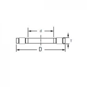 Timken K.81211TVP thrust roller bearings