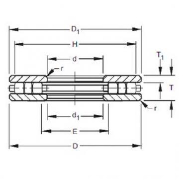 Timken 240TP177 thrust roller bearings