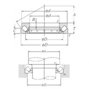 NTN 293/500 thrust roller bearings