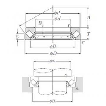 NTN 29380 thrust roller bearings