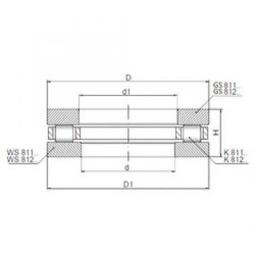 ISO 81102 thrust roller bearings