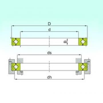 300 mm x 360 mm x 25 mm  ISB CRBC 30025 thrust roller bearings