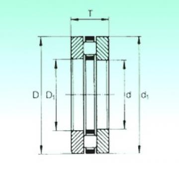 320 mm x 400 mm x 19 mm  NBS 81164-M thrust roller bearings