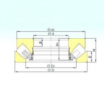 140 mm x 280 mm x 64 mm  ISB 29428 M thrust roller bearings