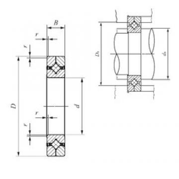 50 mm x 80 mm x 13 mm  IKO CRBC 5013 UU thrust roller bearings