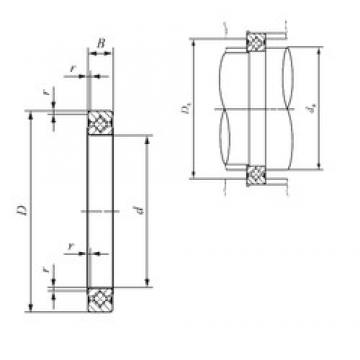 130 mm x 146 mm x 8 mm  IKO CRBS 1308 A UU thrust roller bearings