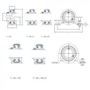 SKF P 3/4 TR bearing units
