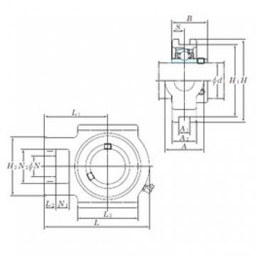 KOYO UCT217 bearing units
