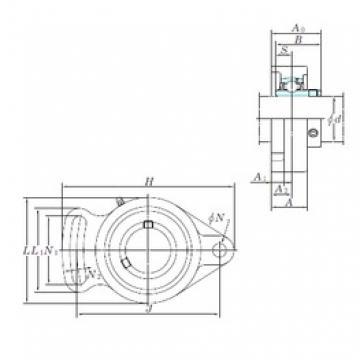 KOYO UCFA207 bearing units