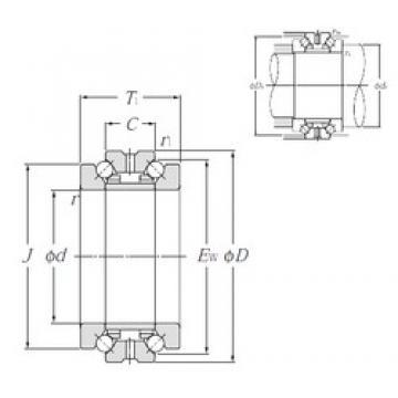 NTN 562028M thrust ball bearings