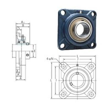 FYH UCF314 bearing units