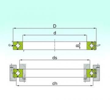 120 mm x 180 mm x 25 mm  ISB CRBH 12025 A thrust roller bearings