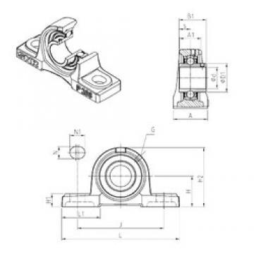 SNR UCP313 bearing units
