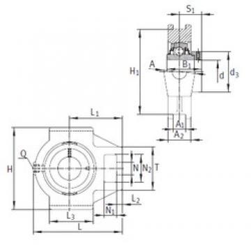 INA RTUEO80 bearing units