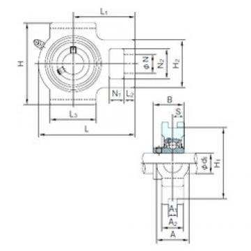 NACHI UCT212 bearing units