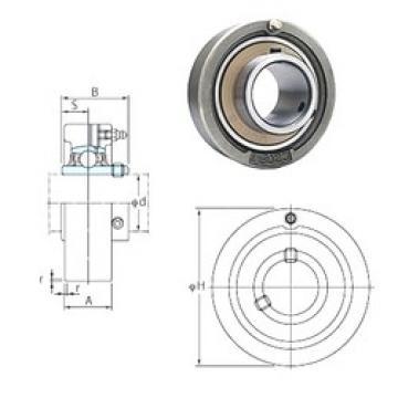 FYH UCC207-22 bearing units