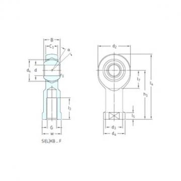 SKF SILKB16F plain bearings