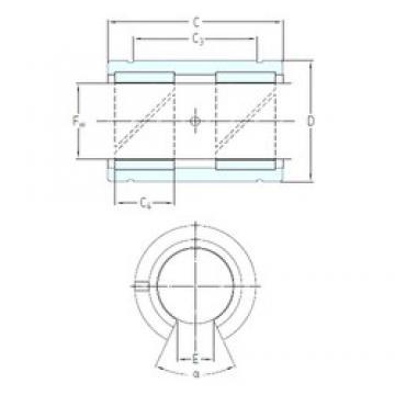 SKF LPAT 50 plain bearings