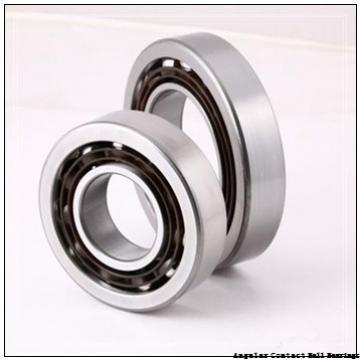 85 mm x 150 mm x 28 mm  FBJ QJ217 angular contact ball bearings