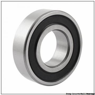 Toyana 16017 deep groove ball bearings