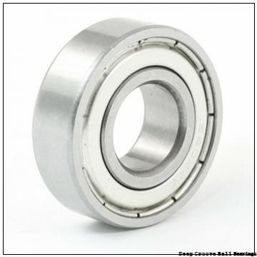17 mm x 40 mm x 13,67 mm  Timken 203KTD deep groove ball bearings