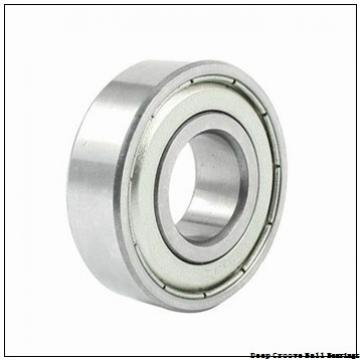 55 mm x 90 mm x 18 mm  NACHI 6011N deep groove ball bearings