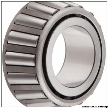 90 mm x 190 mm x 20 mm  NBS 89418-M thrust roller bearings
