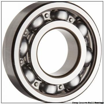 10 mm x 19 mm x 5 mm  NSK 6800 deep groove ball bearings
