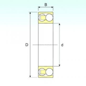 100 mm x 215 mm x 47 mm  ISB 1320 self aligning ball bearings