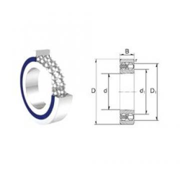 17 mm x 40 mm x 12 mm  ZEN S1203 self aligning ball bearings