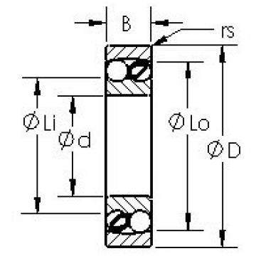 AST 2307 self aligning ball bearings