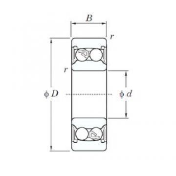 12 mm x 32 mm x 14 mm  KOYO 2201-2RS self aligning ball bearings