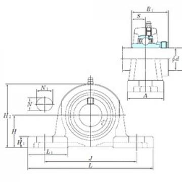KOYO NAP209-26 bearing units