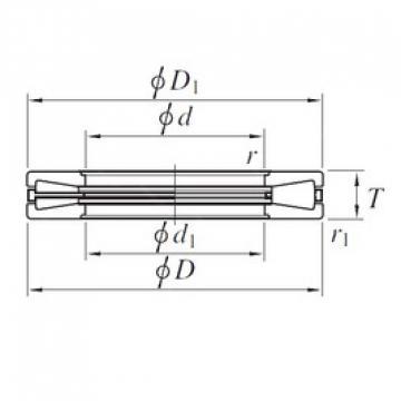 KOYO T911 thrust roller bearings