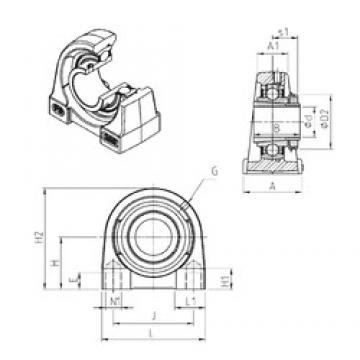 SNR UKPG209H bearing units