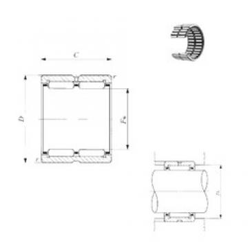 IKO RNA 6910 needle roller bearings